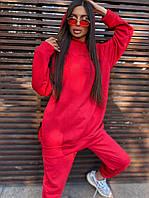 Женский повседневный спортивный костюм (худи и джогеры) р42-46 k5SP1055, фото 1