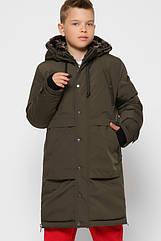 Детская зимняя куртка парка для мальчиков X-Woyz 8315 размеры 28 30