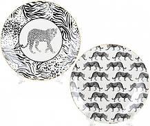 Тарелка фарфоровая Bona Wild Style Ø21.3 см