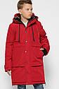 Детская зимняя куртка парка для мальчиков X-Woyz 8315 размер 40 (146-152), фото 6