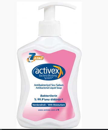 Антибактериальное жидкое мыло Activex, фото 2