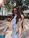 Женская куртка кожаная оверсайз со спущенным рукавом 71kr327, фото 5