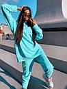 Женский повседневный спортивный костюм (худи и джогеры) р42-46 k5so1055, фото 4
