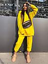 Женский повседневный спортивный костюм (худи и джогеры) р42-46 k5so1055, фото 6