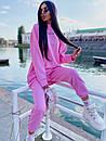 Женский повседневный спортивный костюм (худи и джогеры) р42-46 k5so1055, фото 7