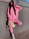 Женский повседневный спортивный костюм (худи и джогеры) р42-46 k5so1055, фото 8