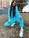 Женский повседневный спортивный костюм (худи и джогеры) р42-46 k5so1055, фото 9