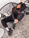 Женский повседневный спортивный костюм (худи и джогеры) р42-46 k5so1055, фото 10
