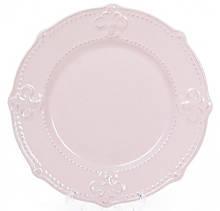 Тарелка десертная Leeds Королевская Лилия d 21.5 см розовые