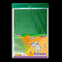 Бумага цветная с блестками ГЛИТТЕР А4 5 л5 цв 150 г/м2 KIDS Line