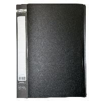 ^$Папка пластиковая с 30 файлами JOBMAX А4 черная