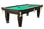 """Бильярдный стол """"Магнат"""" размер 7 футов игровое поле из ЛДСП для игры в Американский пул Стандартная, фото 2"""