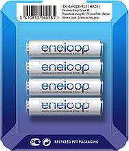 Аккумуляторы Panasonic Eneloop AAA 800 mAh, BK-4MCC, 2100 циклов (упаковка: sliding pack)