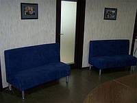 Диван офисный Партнер. Офисные диваны под заказ. Изготовление мягкой мебели