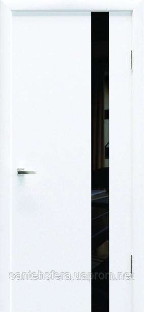 Межкомнатная дверь HЕМАН Колори Art 01 Black Glass
