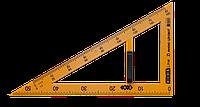 Угольник TEACHER 90°/60° для школьной доски 50 см желтый KIDS Line