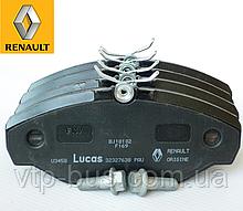 Тормозные колодки передние Renault Trafic / Opel Vivaro (2001-2014) Renault (Франция) 7701050914