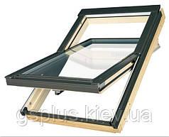 """Готовое пластиковое мансардное окно Velux GZL 1059 """"Эконом"""" 55х98"""
