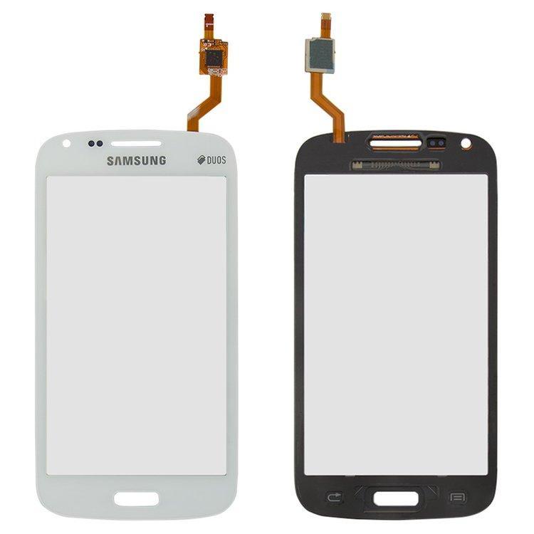 Сенсор (тачскрін) для Samsung I8260 Galaxy Core, I8262 Galaxy Core білий