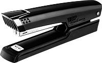 Степлер настольный ESSENTIALS METAL удлиненный металлический 25л (скобы №24/6 26/6) черный