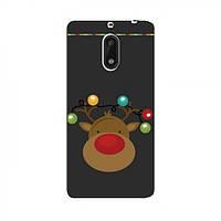 Чехлы с картинкой (Рождественские) для Nokia 6 (AlphaPrint) (Нокиа Нокиа 6), фото 1