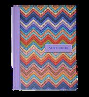 /Записная книжка WEAVE А6 64 л клетка твердая обложка мат ламинация+лак розовая