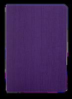 Блокнот деловой COLOR TUNES А5 96 л клетка фиолетовый исккожа