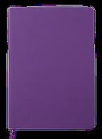 Блокнот деловой TOUCH ME L2U А5 96 л клетка фиолетовый исккожа