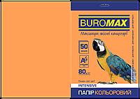 Бумага цветная INTENSIVE оранж 50 л А4 80 г/м²