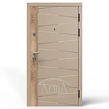 Вхідні двері Arma 212 DEN ніжний беж