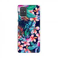 Чохол з принтом (Дизайнерські) для Samsung Galaxy A71 (A715) (AlphaPrint) (Самсунг )