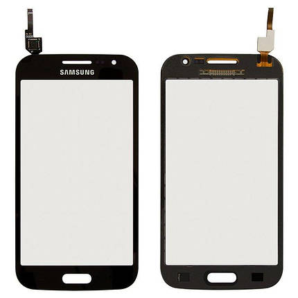 Сенсор (тачскрін) для Samsung I8550 Galaxy Win, I8552 Galaxy Win сірий Оригінал, фото 2