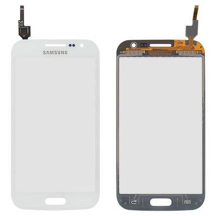 Сенсор (тачскрин) для Samsung I8550 Galaxy Win белый Оригинал, фото 2