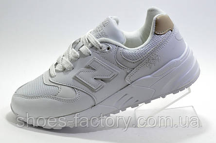 Білі кросівки унісекс в стилі New Balance 999, White, фото 2
