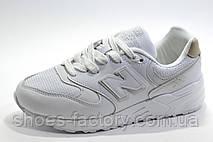 Білі кросівки унісекс в стилі New Balance 999, White, фото 3
