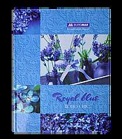 /Книга канцелярская BOHO CHIC А4 96 л клетка офсет твердая ламинированная обложка синяя