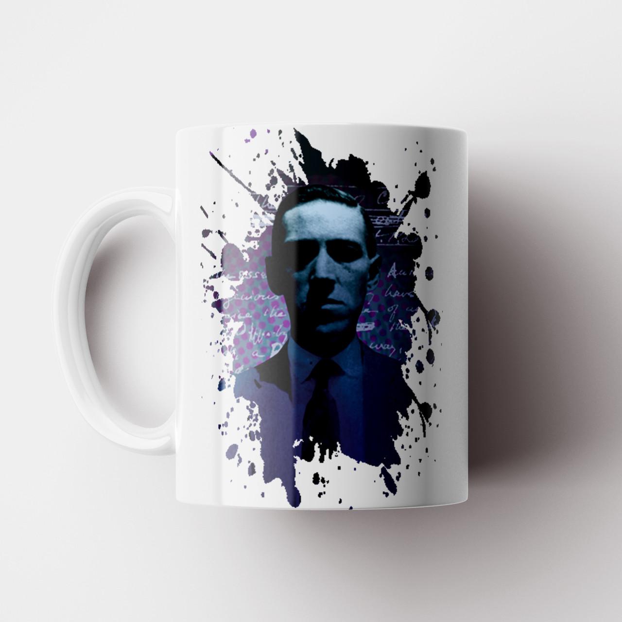 Чашка Говард Филлипс Лавкрафт. Lovecraft. Чашка с фото
