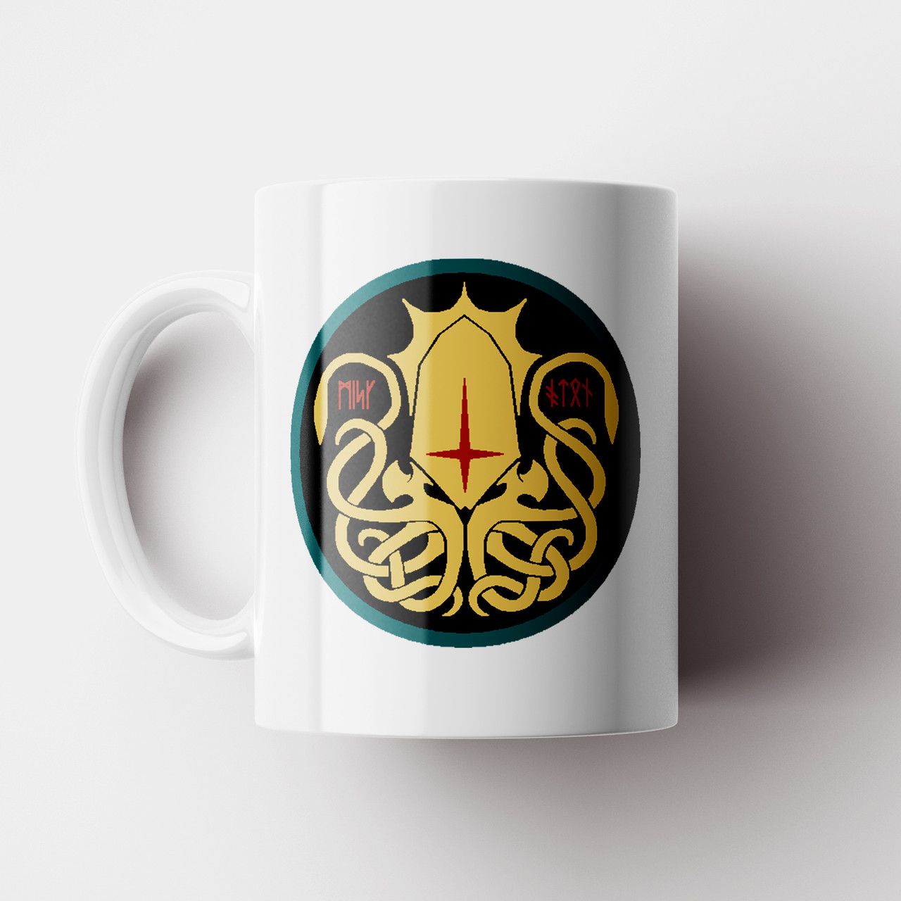 Чашка Ктулху. Лавкрафт Говард Филлипс.Lovecraft Cthulhu.Чашка с фото