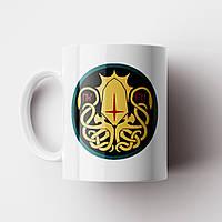 Чашка Ктулху. Лавкрафт Говард Филлипс.Lovecraft Cthulhu.Чашка с фото, фото 1