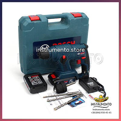 Акумуляторний перфоратор BOSCH GBH 36V-Li Compact (36V, 5AH) Професійний перфоратор Бош