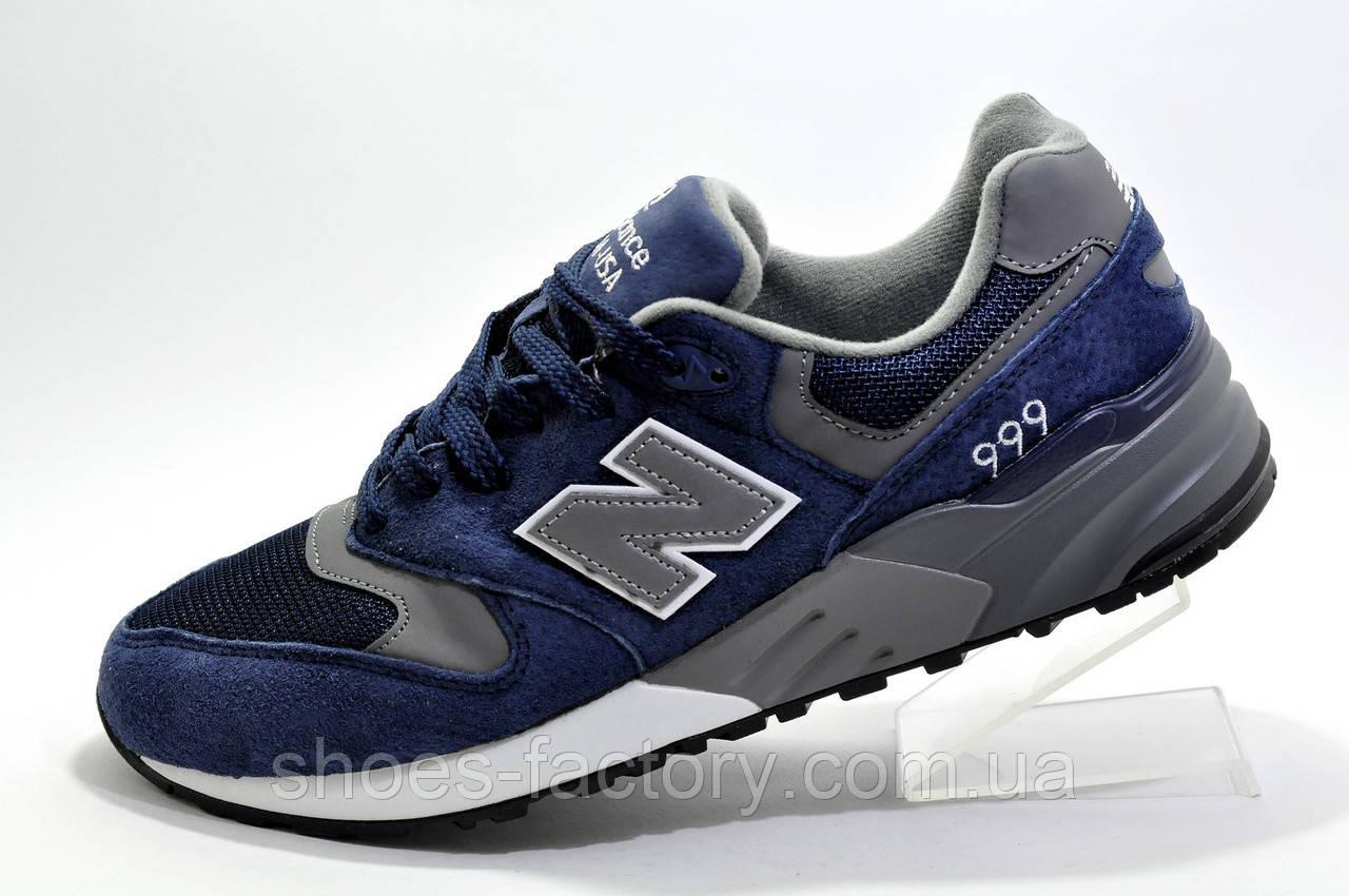 Чоловічі кросівки в стилі New Balance 999 Classic, Dark Blue\Gray