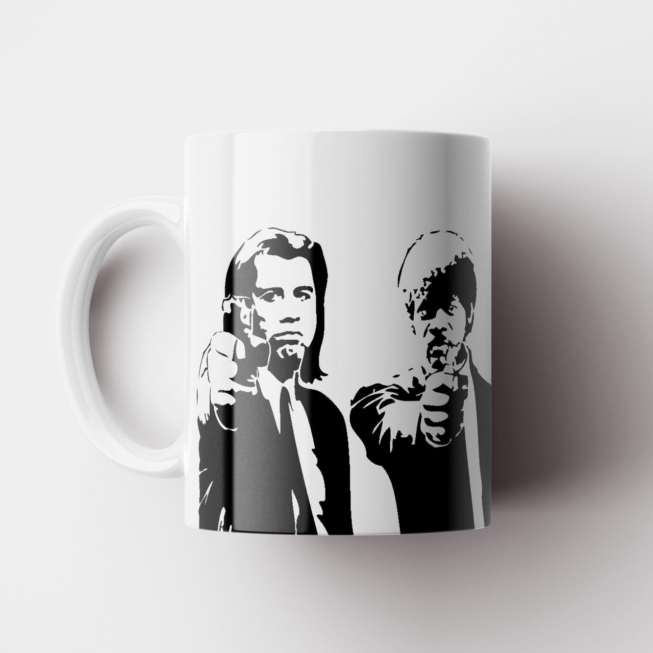 Чашка Криминальное Чтиво Тарантино. Pulp Fiction Чашка с фото