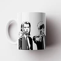 Чашка Криминальное Чтиво Тарантино. Pulp Fiction Чашка с фото, фото 1