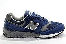 Чоловічі кросівки в стилі New Balance 999 Classic, Dark Blue\Gray, фото 2