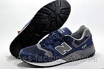 Чоловічі кросівки в стилі New Balance 999 Classic, Dark Blue\Gray, фото 3
