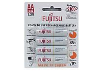 Аккумуляторы Fujitsu AA 2000 mAh, HR-3UTCEX, 2100 циклов (упаковка: блистер)