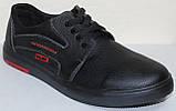 Туфли на шнурках мужские кожаные от производителя модель ВОЛ252, фото 2