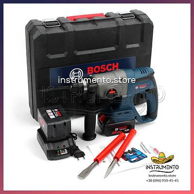 Акумуляторний перфоратор BOSCH GBH 48V-EC Professional (48V, 6 AH) Професійний перфоратор Бош