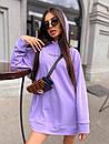 Женское теплое плать-худи с капюшоном (р. 42-46) к5plt1581, фото 3
