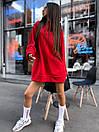Женское теплое плать-худи с капюшоном (р. 42-46) к5plt1581, фото 5